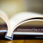 A Homeschool Day in Life 2015 | AmyLovesIt.com