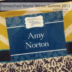 Homeschool Moms' Winter Summit 2015 Wrap-Up | AmyLovesIt.com