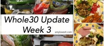 Whole30 Week 3 Update | AmyLovesIt.com