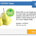 20% off Pears SavingStar eCoupon