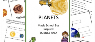 Magic School Bus Inspired Planet Study 30% off