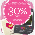 $0.99 School Valentine's + 30% off Valentine's Cards and Invitations