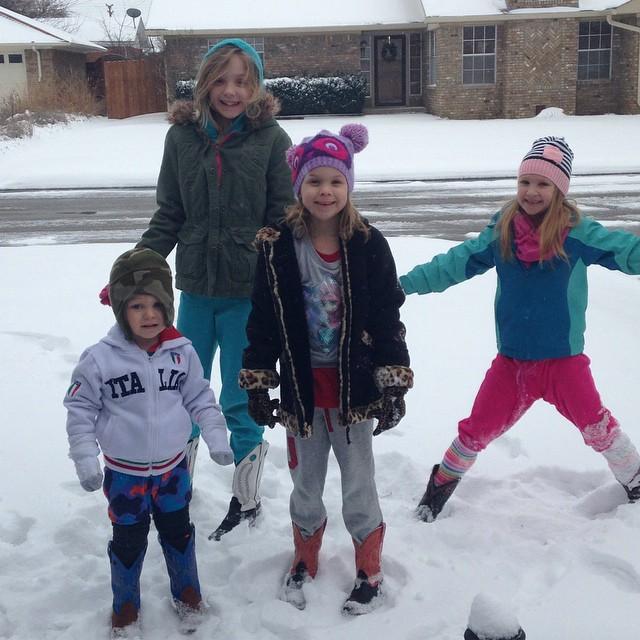 Snow babies! ️️