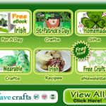 Free FaveCrafts eBooks for St. Patrick's Day and Spring