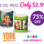 Custom Photo Mug - $2.99
