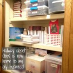 Rearranging - Hall Closet (Top)
