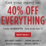 Shutterfly 40 off Everything | AmyLovesIt.com