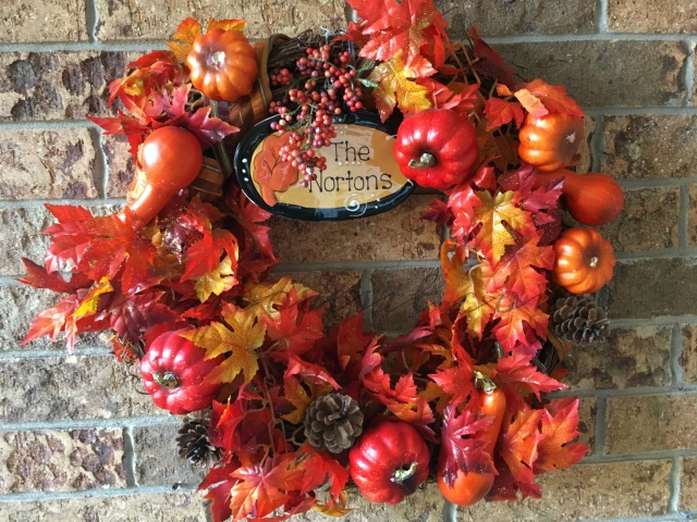 Fall Front Porch Decor | AmyLovesIt.com