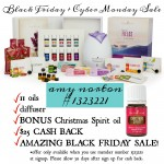 Young Living Black Friday Sale with $25 Cash Back Bonus | AmyLovesIt.com