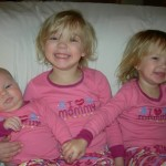 My girls... December 2008