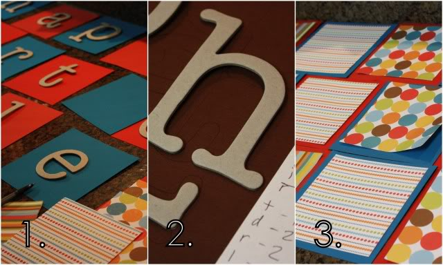 homemade birthday banner craft