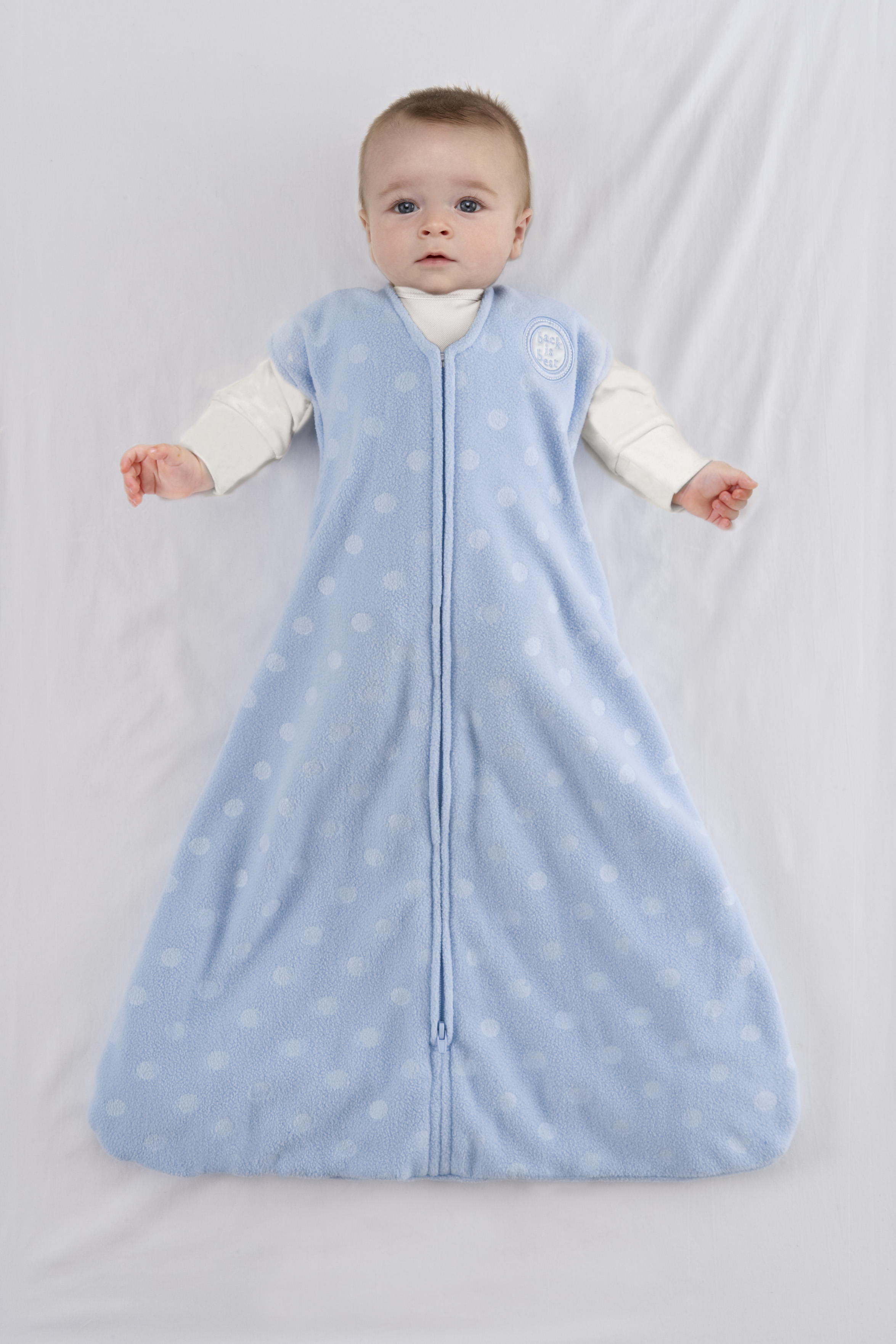 Size Chart Selecting the proper size wearable blanket for your child: We recommend selecting a size based on your baby's current weight and height.