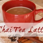 Easy Homemade Chai Tea Latte  AmyLovesIt.com