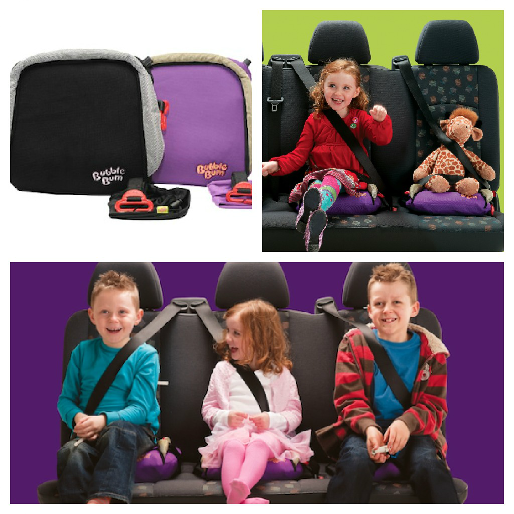 BubbleBum Inflatable Booster Seat {Giveaway!}