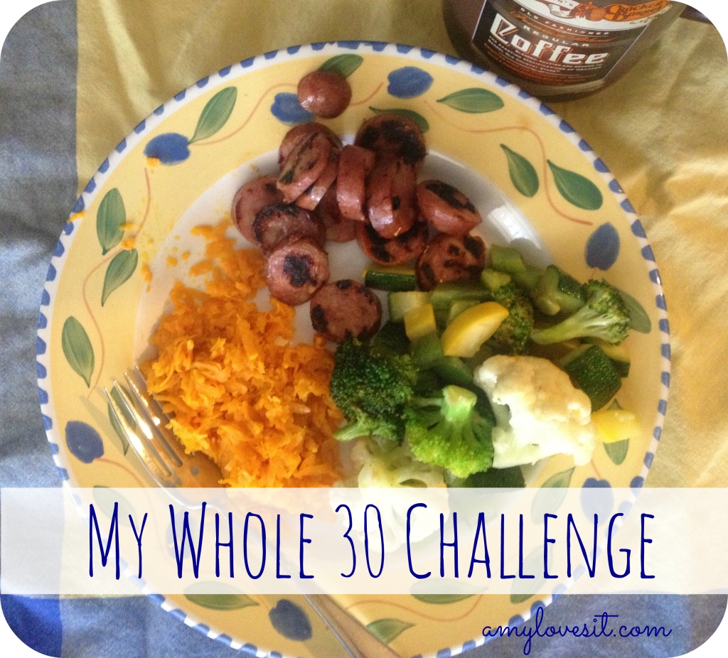 My Whole30 Challenge