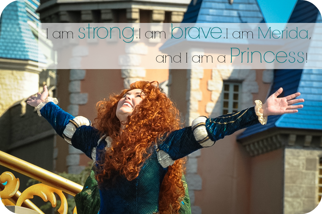 Merida after her crowning