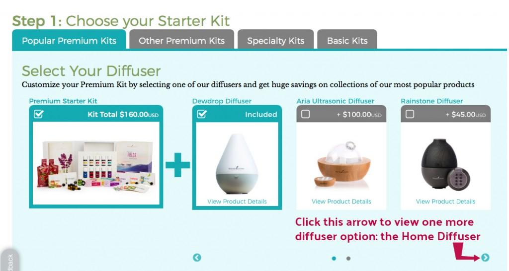 2 NEW Member Enrollment - Step 1 - Choose Kit