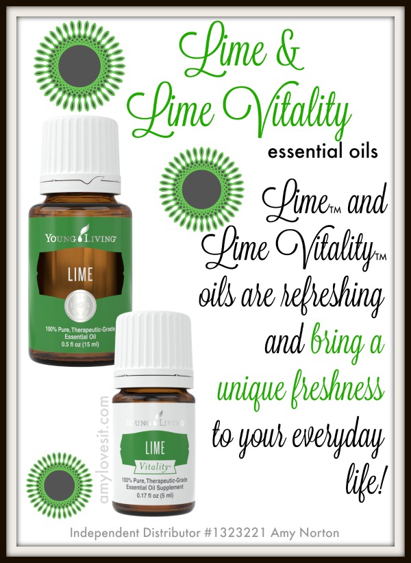 9 Uses for Lime and Lime Vitality Essential Oils | AmyLovesIt.com