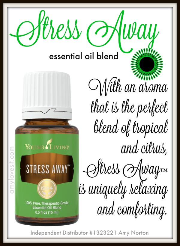 Melt Your Cares Away with Stress Away Essential Oil Blend | AmyLovesIt.com