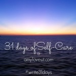 31 Days of Self-Care