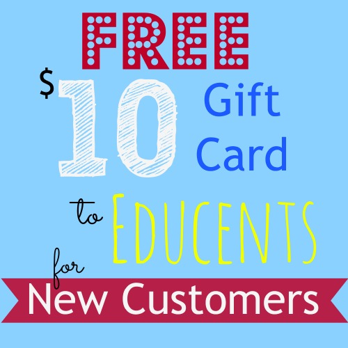 Free $10 Gift Card to Educents   amylovesit.com