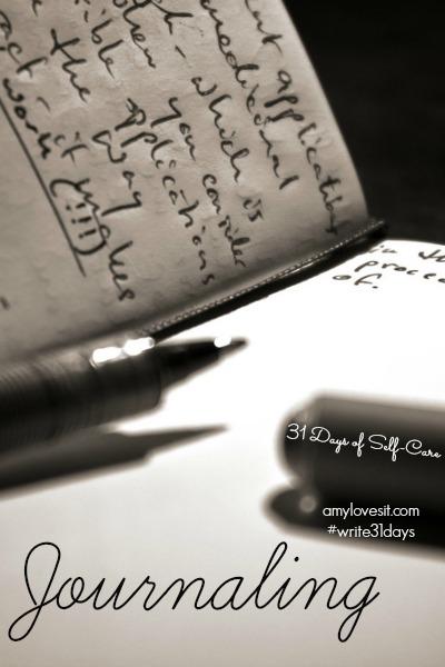 Journaling | AmyLovesIt.com #write31days