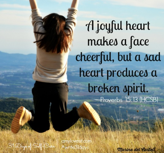 Joyful Heart | AmyLovesIt.com #write31days