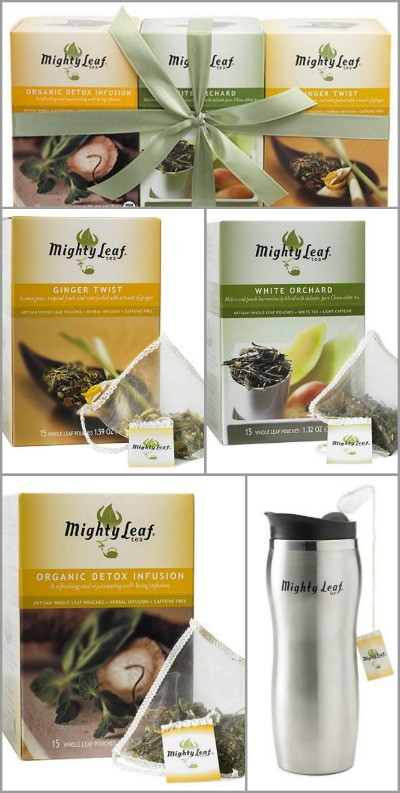 Mighty Leaf Sample Pack Giveaway | AmyLovesIt.com