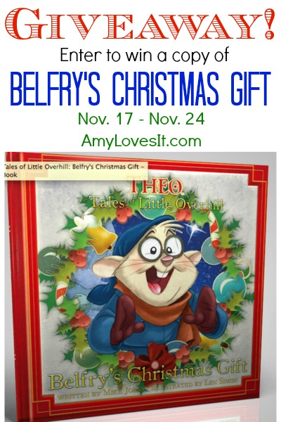 Belfry's Christmas Gift Giveaway | AmyLovesIt.com