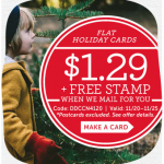 $1.29 Cards + Free Stamp