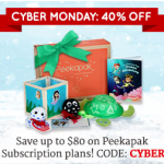 Cyber Monday Peekapak Deal