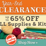 Craftsy's Year-End Clearance Sale