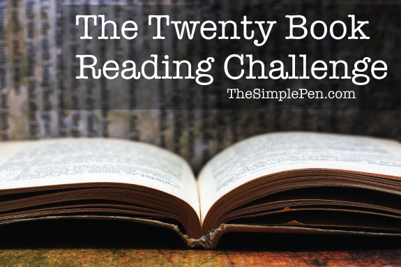 The Twenty Book Reading Challenge @ The Simple Pen