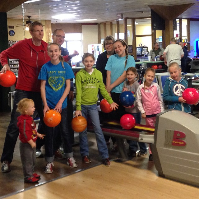 Family bowling fun!
