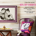 Shutterfly: 40% off Everything
