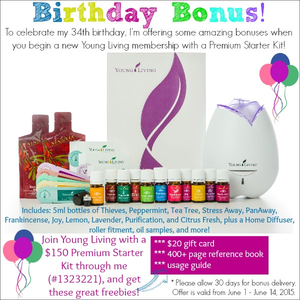 Free Oil and Gift Card with New Young Living Membership