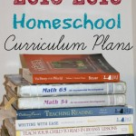 2015-2016 Homeschool Curriculum Plans | AmyLovesIt.com