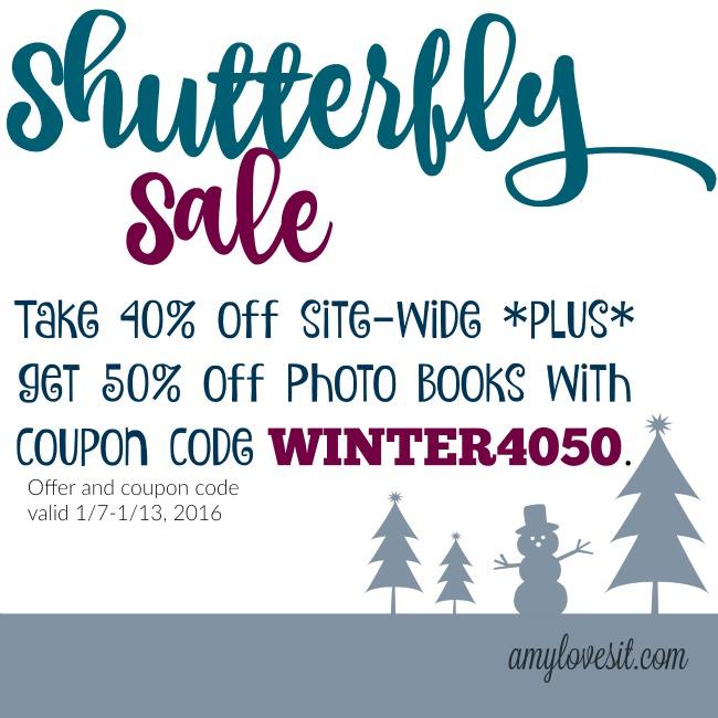 Huge Shutterfly Sale | AmyLovesIt.com
