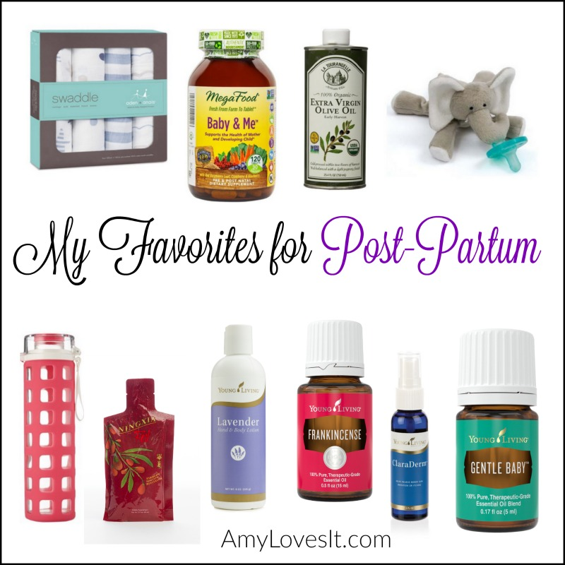2016_02 My Favorites for Post-Partum