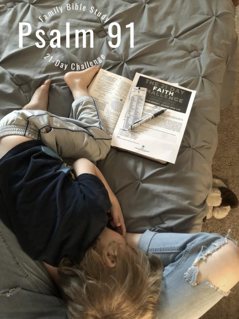 Psalm 91 21-Day Challenge Family Bible Study || AmyLovesIt.com